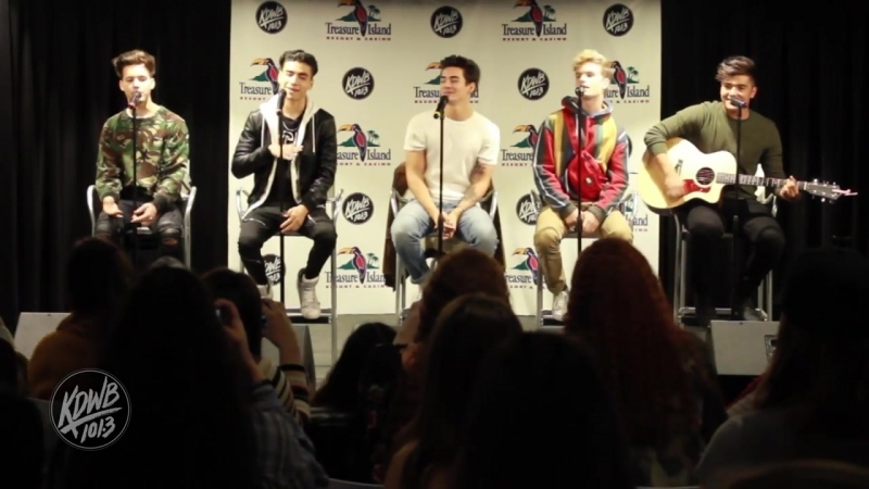In Real Life - Eyes Closed in the KDWB Skyroom
