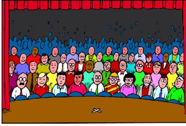 зрители картинка рисунок запросу шуба нутрии