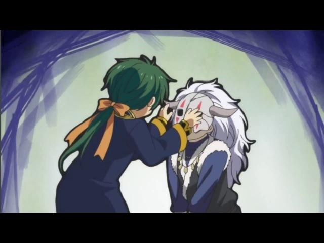 смешные моменты из аниме рассвет Йоны 4 Желтый дракон. Конец