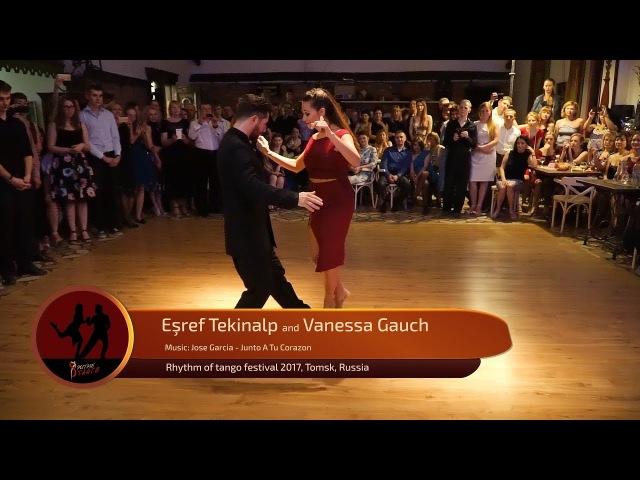 Esref Tekinalp and Vanessa Gauch 1 4 RTF 2017 Tomsk Russia