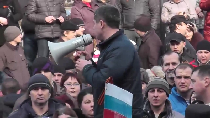 Краматорск 1 марта 2014 Русвесна KRM news