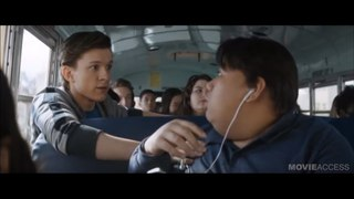 AVENGERS INFINITY WAR Spiderman School Bus Full Clip HD + Trailer 2018 Marvel