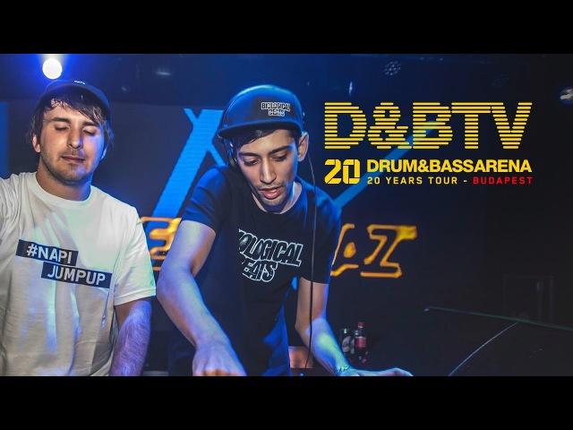 DrumBassArena 20 Years Tour Budapest - Klay b2b Puppetz