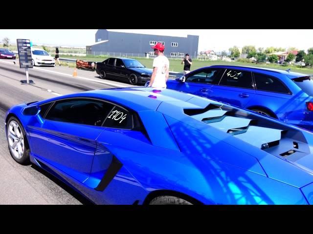 Lamborghini Aventador LP700 4 800HP CZR vs Audi RS6 750HP CZR