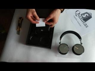 Распаковка наушников Bluedio T4