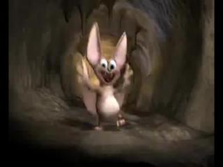 Такой смешной мышонок с крылышками!!!...