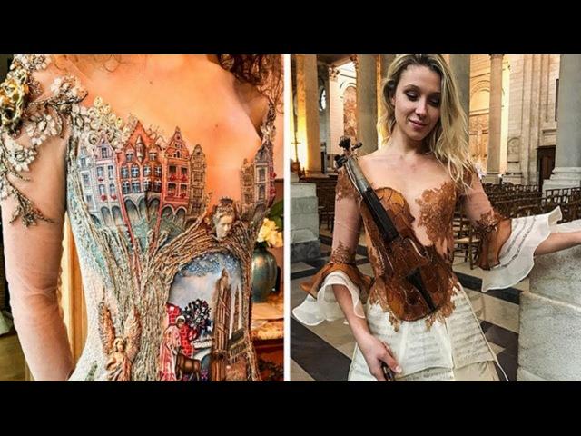 This French Designer Creates Dresses Like No One Else Sylvie Facon fashion design