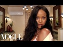 Rihanna's Epic 10 Minute Guide to Going Out Makeup Beauty Secrets Vogue