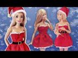 Vestido de Natal para Barbie | DIY | Cherry Miniaturas