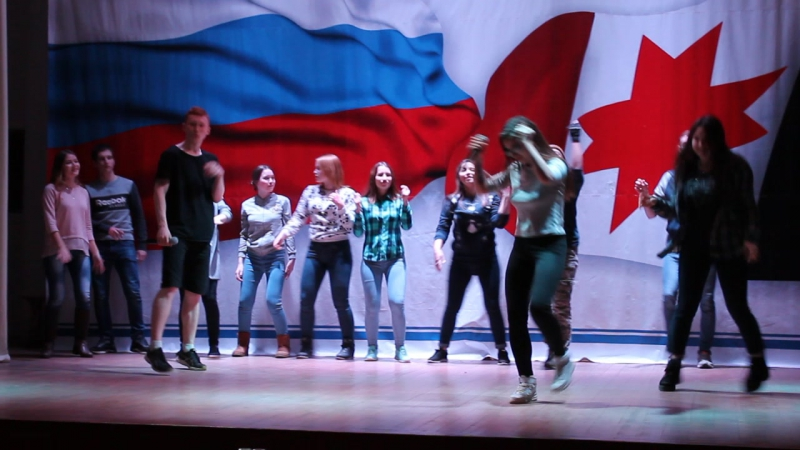 Посвящение в студенты 2017. Лагерь Дзержинец