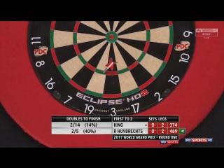 Mervyn King vs Ronny Huybrechts (PDC World Grand Prix 2017 / Round 1)
