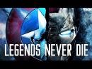 Iron Man Captain America - Legends Never Die