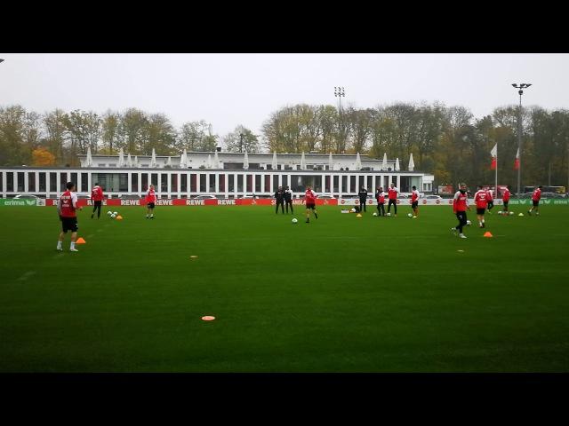 Ballan und mitnahme im Kölner Training