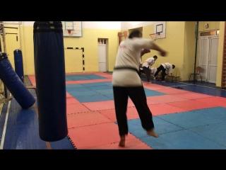 Tobi Ushiro Geri / Jumping Spinning Back Kick