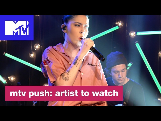 Bishop Briggs Performs 'Never Tear Us Apart' INXS Cover MTV Push Artist to Watch