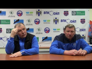 Пресс-конференция О.Чубинского и А.Жеребкова