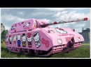 MAUS Hello Kitty against NOOBS KOLOBANOV'S Medal WoT Gameplay