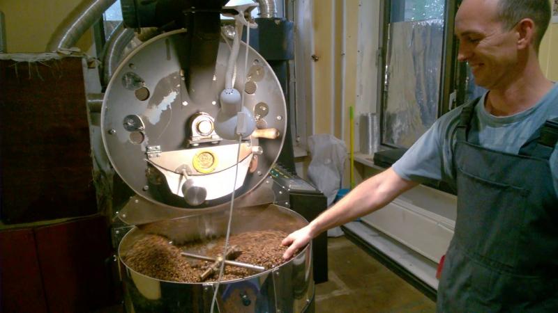 Обжарка кофе, на Art Coffe фаб