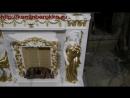 Портал камина Атлант и Кариатида из Белого Мрамора Цена 80 000руб