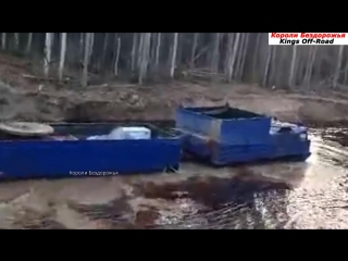 Вездеход Витязь (ДТ-30, ДТ-30П)