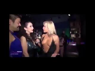 New amazing video!jenny scordamaglia fetish fashion hot miniskirt and no bra!