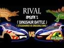 Rival Episode 2 Dinosaur Battle Stegosarurs VS Crocodile Dino