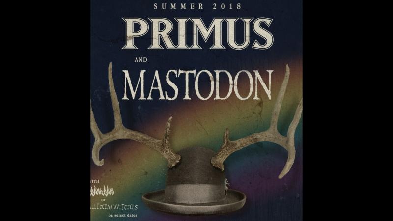 Primus Troy Sanders and Brann Dailor (Mastodon) — Intruder 2018 (Peter Gabriel cover)