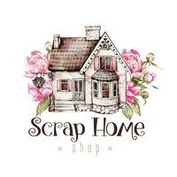 Логотип Скрапбукинг Scrap Home