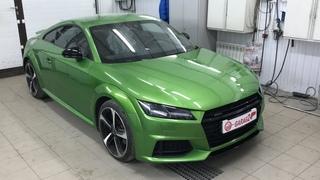 Audi TT RS будем перекрашивать! Осмотр дефектов, готовим под грунт. Часть 1