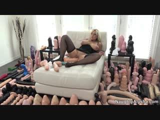 Naughty Alysha - The Collection! [фистинг, анал, fisting, big toys, extreme insertion, anal, gape, milf, big toys, brutal dildo]