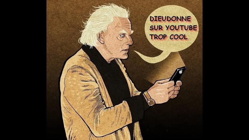 Dieudonné soutient les gilets jaunes Posted By Skutnik Michel