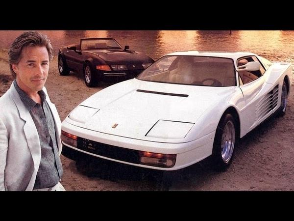 El Mito Ferrari El Testarossa Corrupcion En Miami The Cars Of Miami Vice