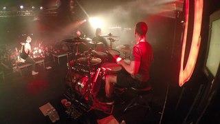 Matt Greiner - August Burns Red - Phantom Anthem Tour ( LIVE DRUM CAM )