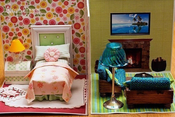 ИГРЫ СВОИМИ РУКАМИ Кукольный домик.