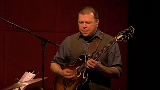 """Tom Guarna Playing his tune """"Unravel"""" with Brian Blade, John Patitucci and Jon Cowherd"""