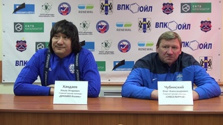 Пресс-конференция О.Чубинского и И.Хандаева