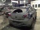 Наши работы по Opel Astra J 5D : Кузовные работы по правому заднему крылу с проёмом и покраской. Покраска заднего бампера с небольшим ремонтом.