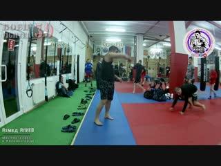 Мастер-класс от Ахмеда АЛИЕВА I Чемпион мира по ушу-саньда и универсальному бою