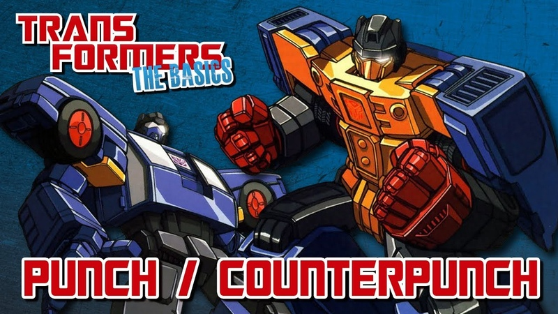 TRANSFORMERS THE BASICS on PUNCH COUNTERPUNCH