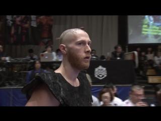 Daisuke Sasaki, Tetsuya Endo vs. Jason Kincaid, Mizuki Watase vs. Tomomitsu Matsunaga, Shunma Katsumata (DDT - Max Bump 2018)