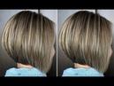 How to: cut a Short Layered Bob Haircut Tutorial - Bob haircut techniques