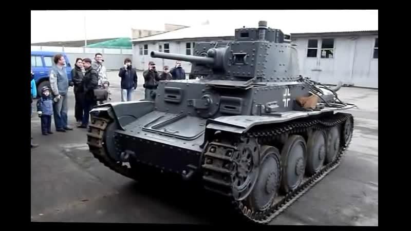 Pz.Kpfw.38(t) Ausf.F - Kubinka 17.10.2009 runs 1