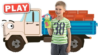 КУКУТИКИ PLAY - Рабочие Машинки - Детская Песенка про Машины - Поем с Тимохой