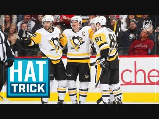 Sidney crosby collects natty hatty to bring penguins back from three-goal deficit