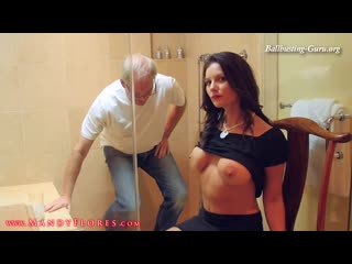 Busting in maui : toilet humiliation : mandy flores femdom