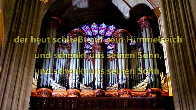 Лютеране. Lobt Gott, Ihr Christen, alle gleich (RDGB 39, EG 27)