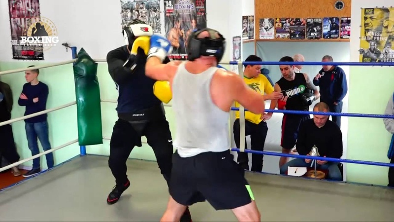 Boxing sparring 12.10.2016 Fight 1