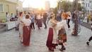 Народныя танцы на Ленінскай праект Пешаходка