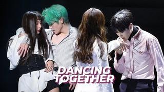 Những màn kết hợp của các Idol Nam & Idol nữ khi nhảy chung với nhau trên cùng một sân khấu