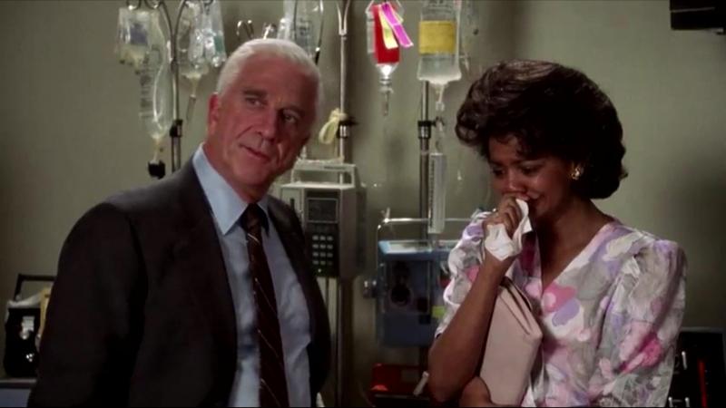 Отрывок из фильма Голый пистолет - Больница